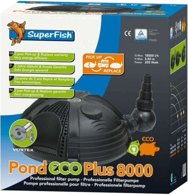 Bomba filtrante Pond eco Plus