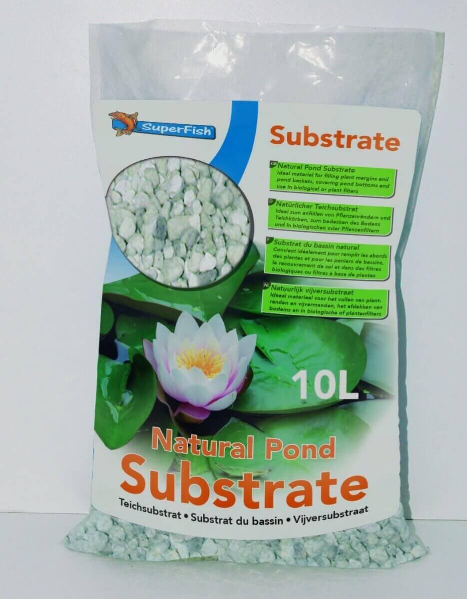 Substrat de bassin superfish accessoires pour plantes for Accessoire pour bassin