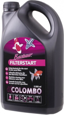 Colombo Bactuur Filter Start pour bassin