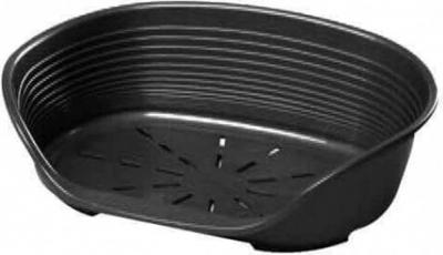 Corbeille en plastique noire Ferplast Siesta Deluxe