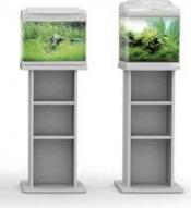 Meuble pour aquarium Silver 20,30,40 litres argent