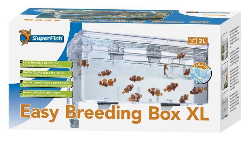 Bac de reproduction pour poissons xl reproduction for Pompe bac a poisson