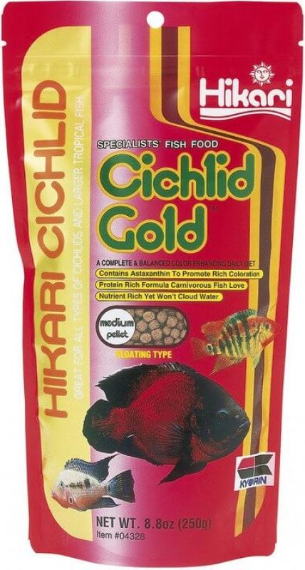 Hikari Cichlid Gold Medium Granulés flottants pour Cichlidés