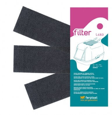 litiere chat filtre