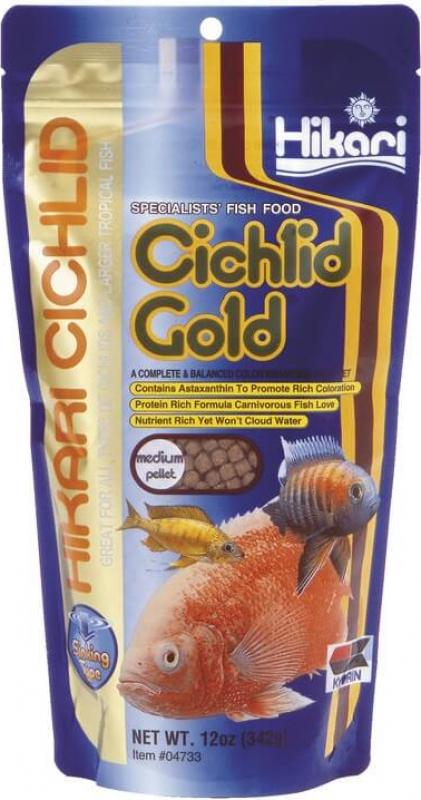 Hikari Cichlid Gold Medium Nourriture coulante pour Cichlidés