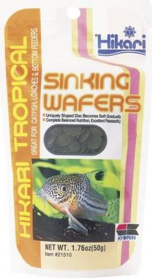 Comprimés haut de gamme pour poissons de fond SINKING WAFERS 110 GRAMMES
