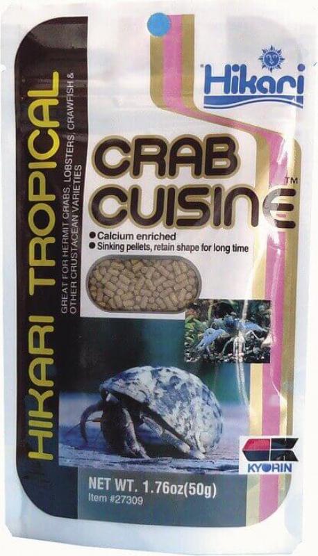 Nourriture Premium pour crabes, homards et crustacés HIKARI CRAB CUISINE 50gr