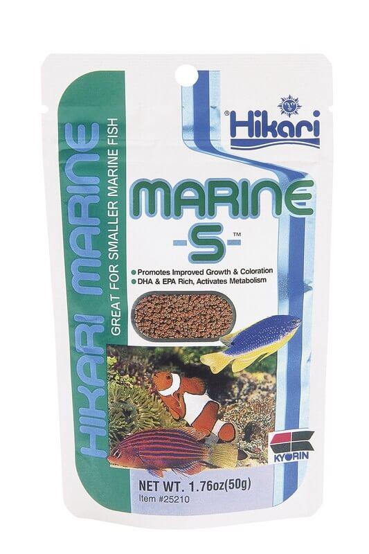 Nourriture premium s che pour poisson d 39 eau de mer hikari for Nourriture a poisson