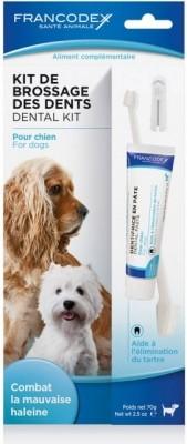 Kit de brossage des dents pour chien