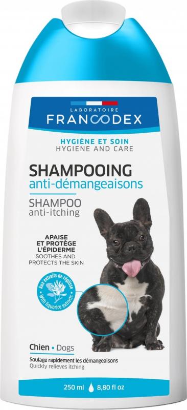 Francodex Shampoing anti-demangeaisons pour chiens 250ml