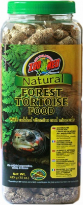 Alimentation pour tortues terrestres Natural Forest Tortoise food