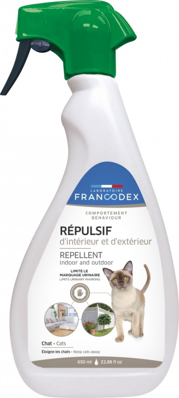 Indoor and Outdoor Cat Repellent