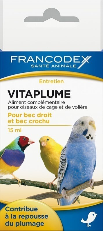 Vitaplume - voor de rui en schoonheid van de veren 15ml