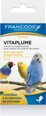 Francodex Vitaplume - per la muta e la bellezza del piumaggio 15 ml