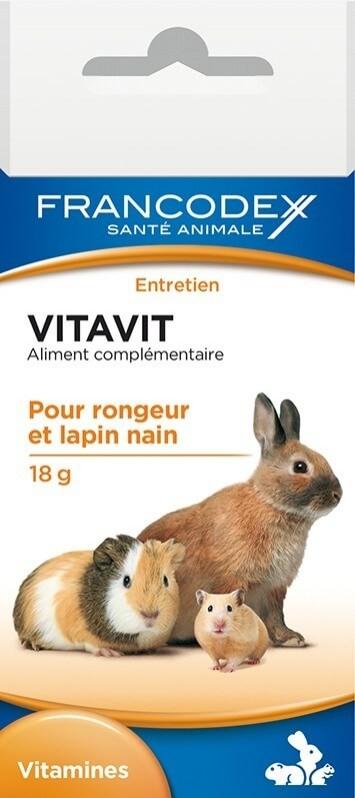 Francodex Vitamines en poudre pour rongeur Vitavit