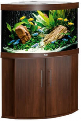 Trigon Aquarium Cabinet - Brown