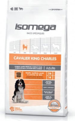 Isomega croquettes Cavalier King Charles
