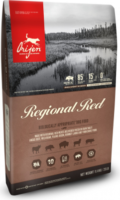 ORIJEN Regional Red Sans Céréales pour chien et chiot