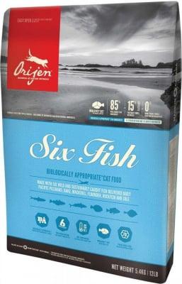Orijen Six Fish aux poissons pour chat