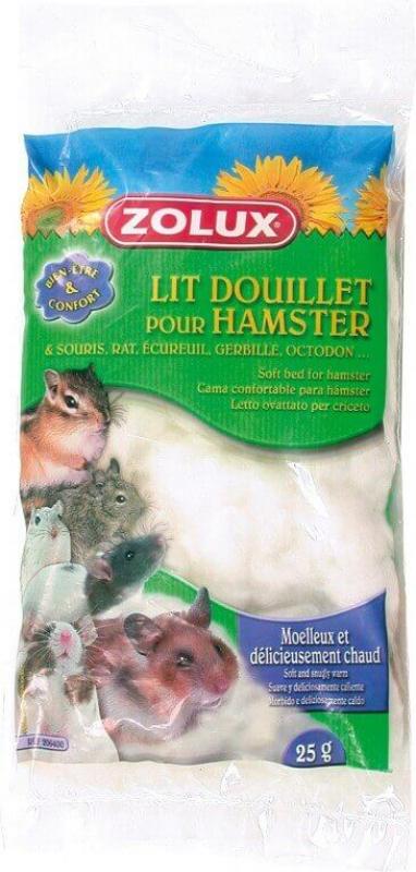 Lit douillet pour hamster