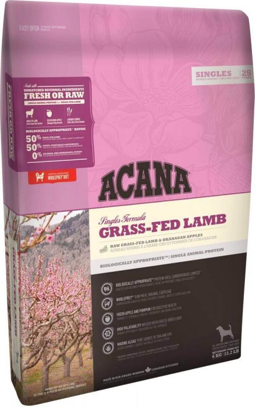ACANA SINGLES Grass-Fed Lamb pour chien sensible
