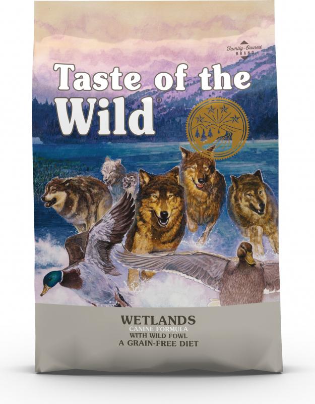 TASTE OF THE WILD Wetlands Grain Free - eend