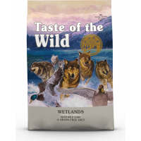 TASTE OF THE WILD Wetlands all'anatra senza cereali per un cane attivo