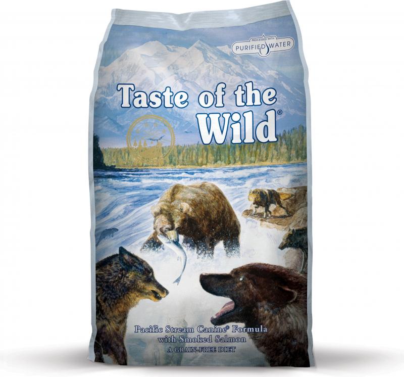 TASTE OF THE WILD Pacific Stream au Saumon Sans Céréales pour chien