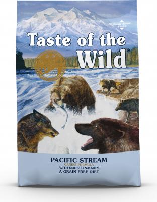 TASTE OF THE WILD Pacific Stream con Salmone Senza Cereali per cani