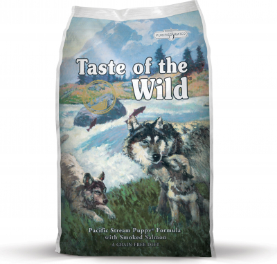 TASTE OF THE WILD PUPPY Pacific Stream au Saumon Sans Céréales pour chiot