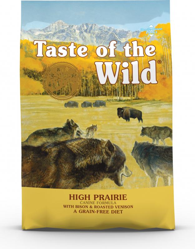 TASTE OF THE WILD High Prairie - Bizon & hert