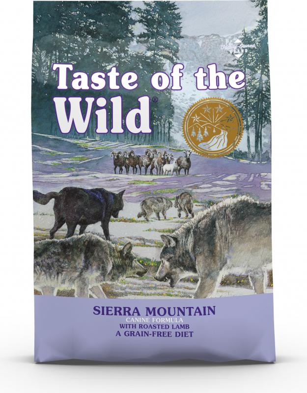 TASTE OF THE WILD Grain Free Sierra Mountain - met lam