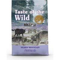 TASTE OF THE WILD Sierra Mountaine con Agnello Senza Cereali per cani