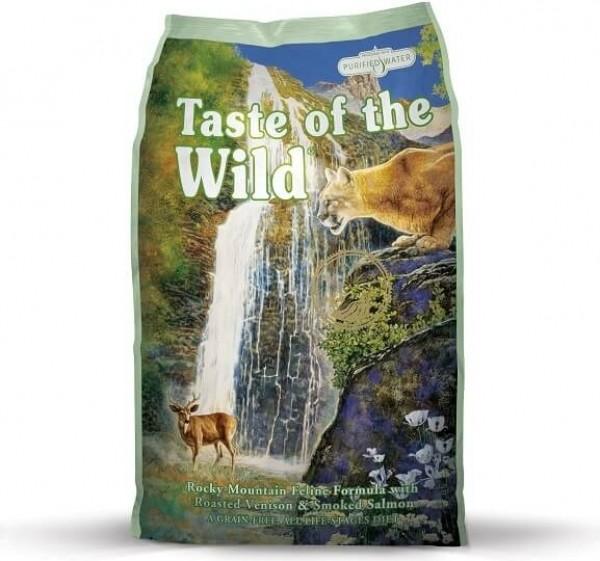 TASTE OF THE WILD Rocky Mountain au Cerf & Saumon Sans Céréales pour chat et chaton