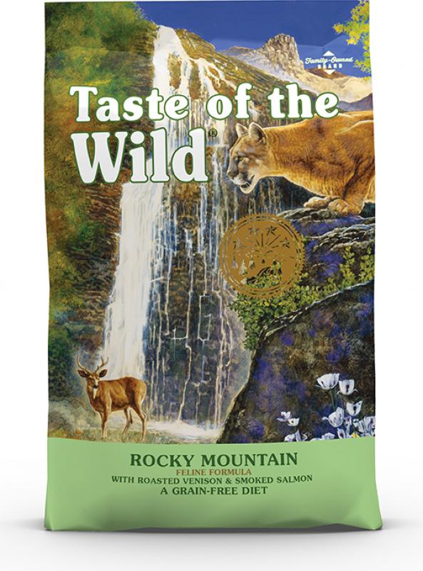 TASTE OF THE WILD Rocky Mountain - met zalm & hert