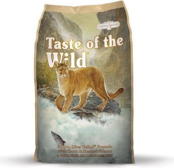TASTE OF THE WILD Canyon River à la Truite & Saumon Sans Céréales pour chat