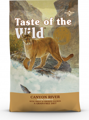 TASTE OF THE WILD Canyon River con Trota & Salmone Senza Cereali per gatti