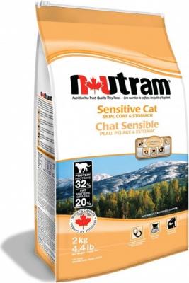 Nutram Cat Sensitive pour chats à l'estomac délicat