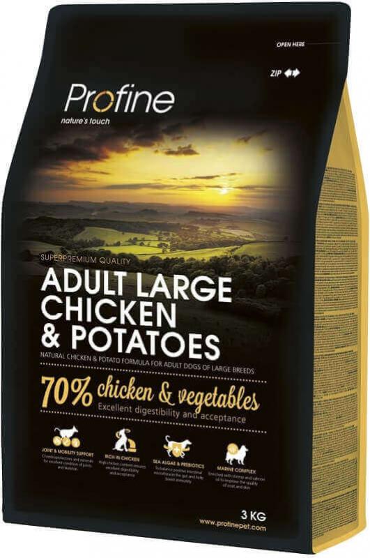 Profine Adult Large Breed Chicken and Potatoes pour chiens adultes de grandes tailles