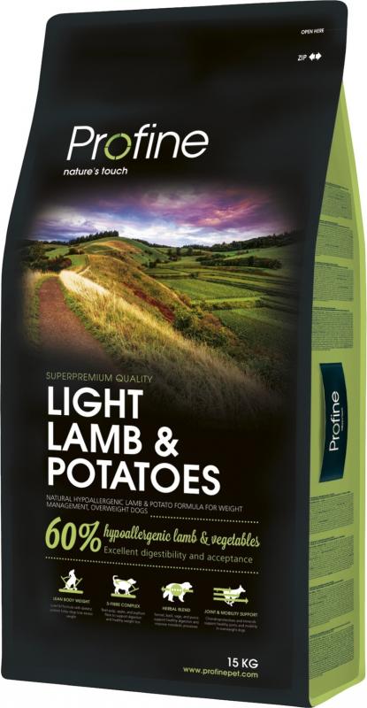 Profine Light Lamb and Potatoes pour le contrôle du poids