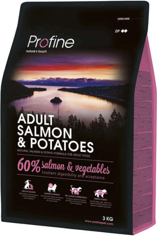 Profine Adult Salmon and Potatoes pour chiens sensibles