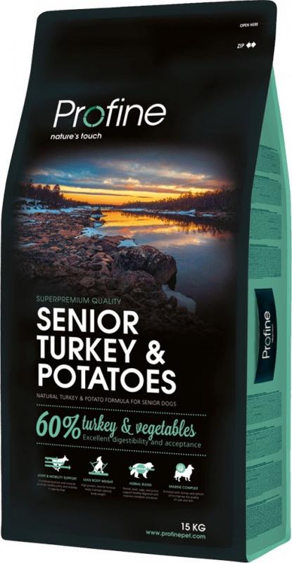 Profine Senior Turkey pour chiens âgés