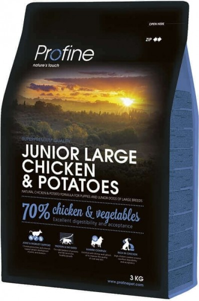 Profine Junior Large Breed Chicken pour chiots de grandes races