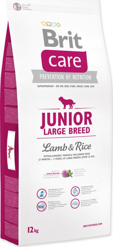 Brit Care Junior Large Breed Agneau & Riz pour Chiot Sensible de grande taille
