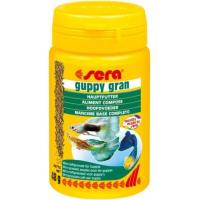 Granulés Guppy Gran pour guppys et espèces vivipares