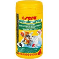 Granulés Goldy Color Spirulina pour les couleurs des poissons rouges