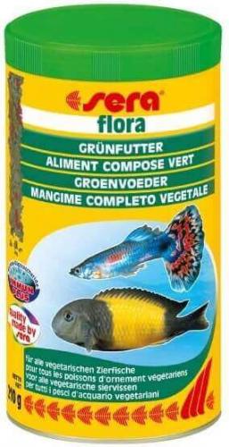 Flocons sera flora pour poissons v g tariens nourriture for Flocon pour poisson