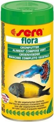 Copos Flora para peces vegetarianos
