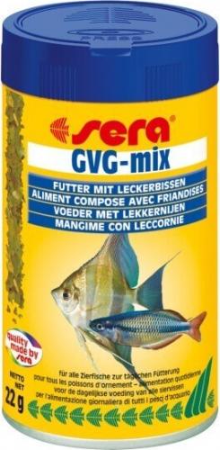 Flocons gvg mix pour poissons d 39 eau douce avec friandises for Flocon poisson