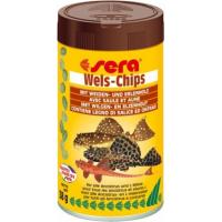 Aliments en chips Wels-Chips pour silures